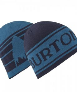 Burton Billboard Beanie Kids Reversible Indigo