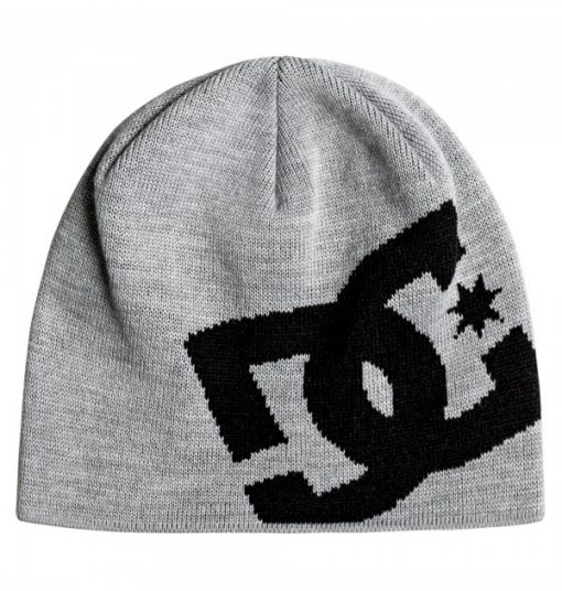 DC Big Star Beanie Youth Grå