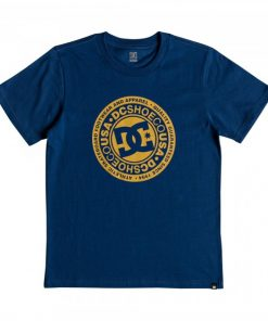 DC Kids T-Shirt Circle Star Blue