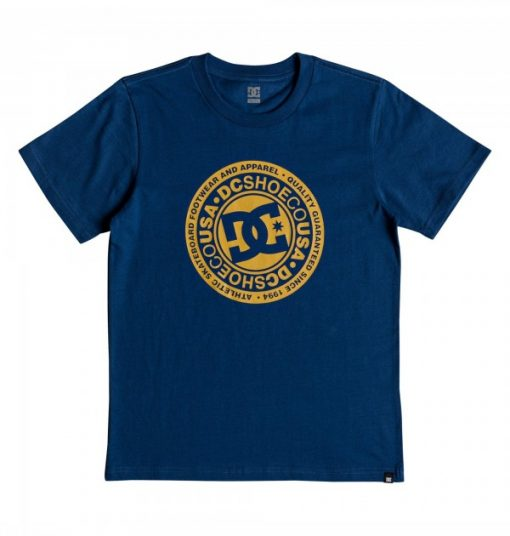 DC Kids T-Shirt Circle Star Blue