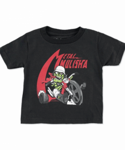 Metal Mulisha Wheel Infant T-Shirt Svart