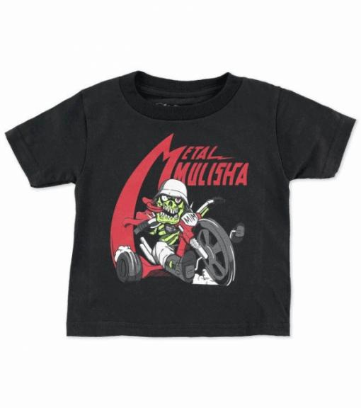 Metal Mulisha Wheel Infant T-Shirt Svart