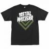 Metal Mulisha White Shadow T-Shirt Svart