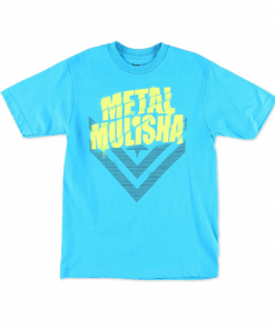Metal Mulisha White Shadow T-Shirt Blå