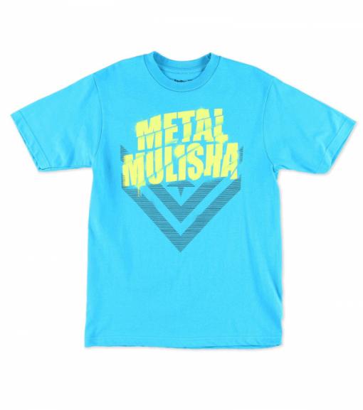 Metal Mulisha White Shadow T-Shirt Blå