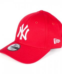 New Era New York Yankees 9forty Youth Keps Röd