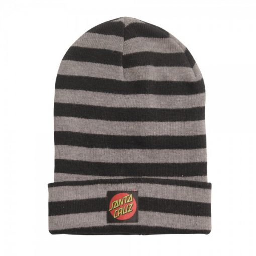 Santa Cruz Creeper Beanie Black