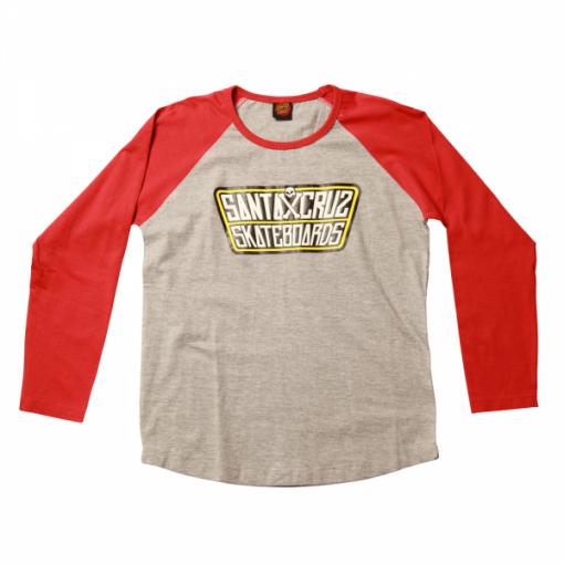 Santa Cruz Youth Double Cross T-Shirt